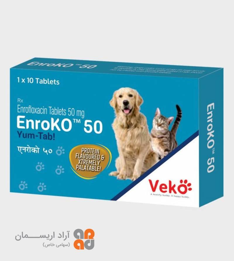 قرص  انروفلوکساسین (ENroko)